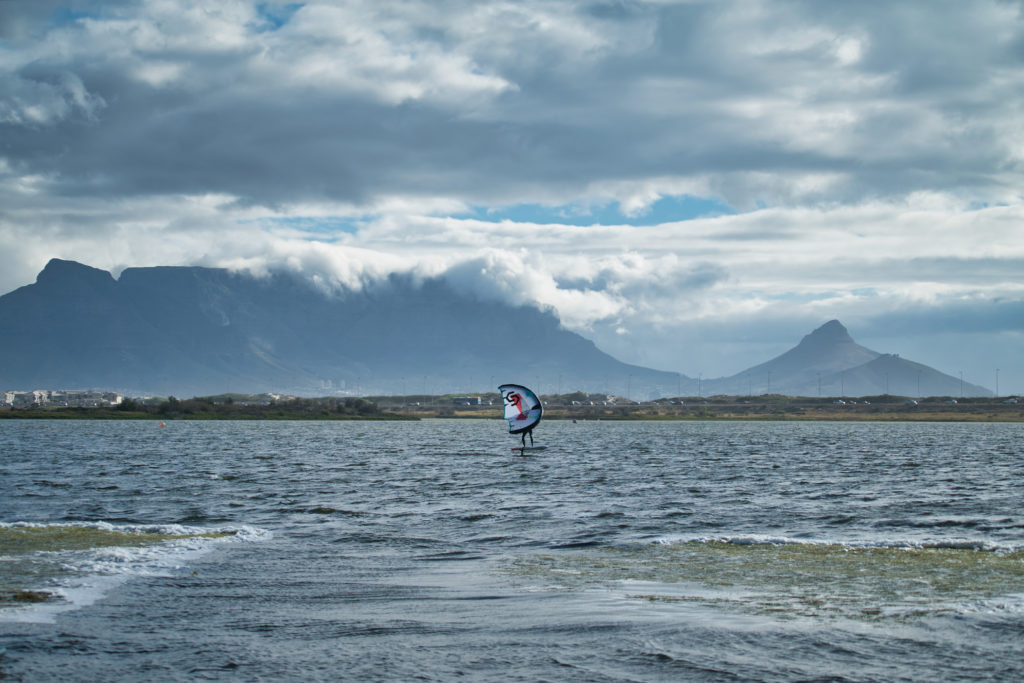 wing foiling in cape town