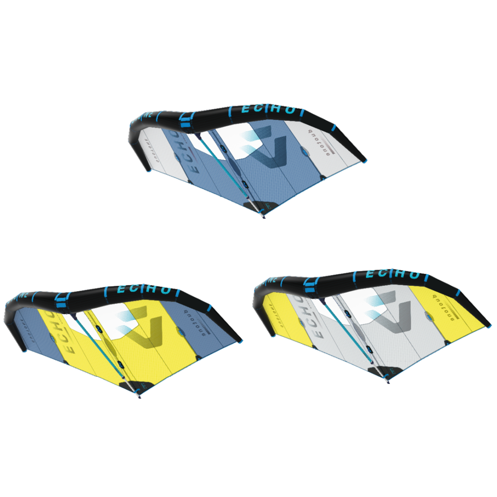Duotone Wing Echo comes in three different colors