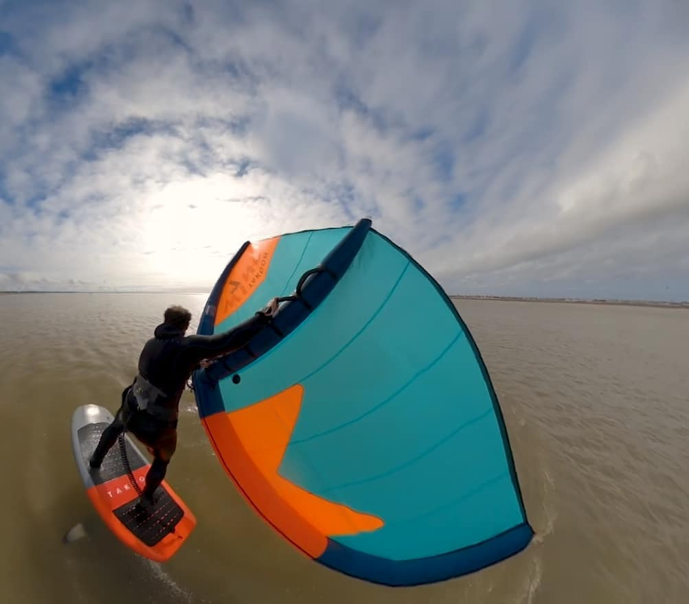 The top 4 wing foil transitions with Eric Terrien