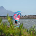 Cape Town made: Ullman Kiteboarding Wing Falcon action on the water
