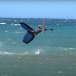 Wing Foil Backflip Jeffrey Spencer Maui