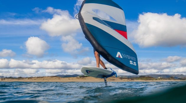 Armstrong Foils A-Wing new wing from New Zealand