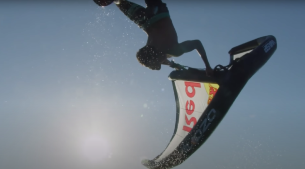 kai lenny wing foil backflip and frontflip how to