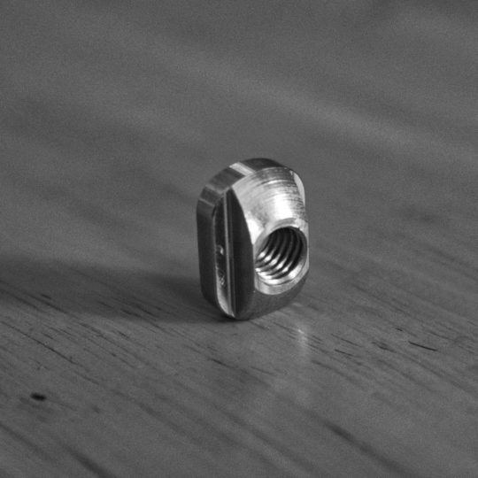 Stainless Steel Nut to mount your foil by wingfoildaily.