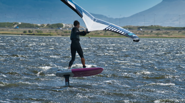 Wing Foil Cape Town with Alec Webb on WINGFOILDAILY