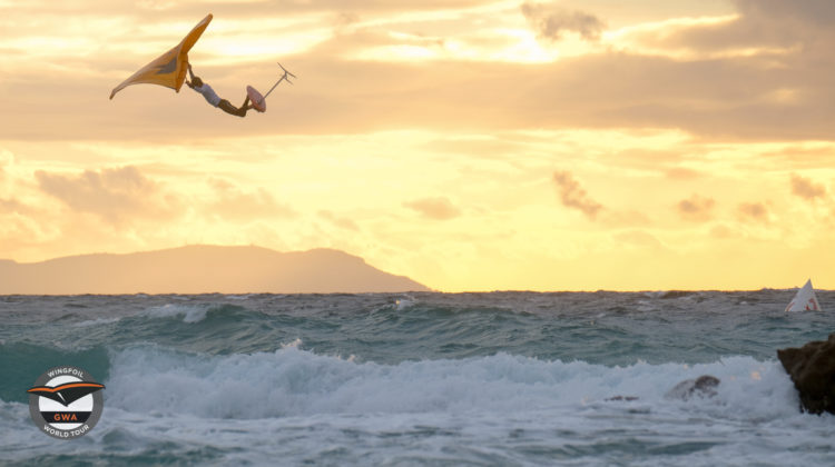 Tarifa Wing Pro Day 03 Race and Action on WINGFOILDAILY