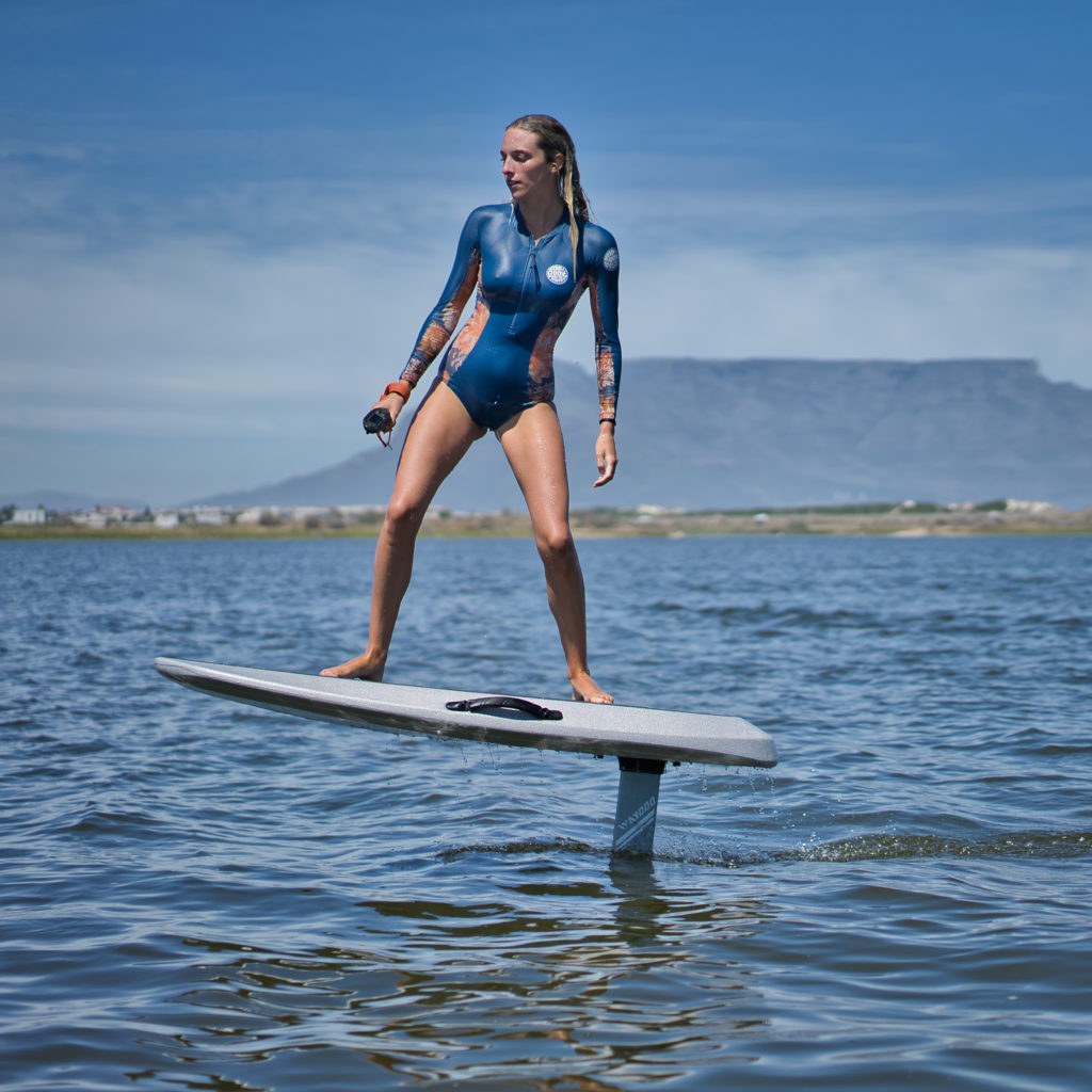 The ultimate best eFoil 2021 overview on wingfoildaily. Best eFoil 2021 - what has this exciting new sport to offer this year? Rachel riding on her waydoo efoil in Cape Town.