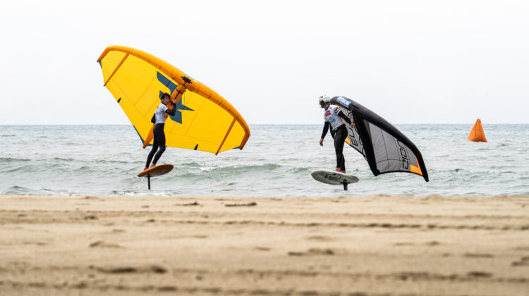 GWA Wing Foil World Cup Leucate 2021 Day 01