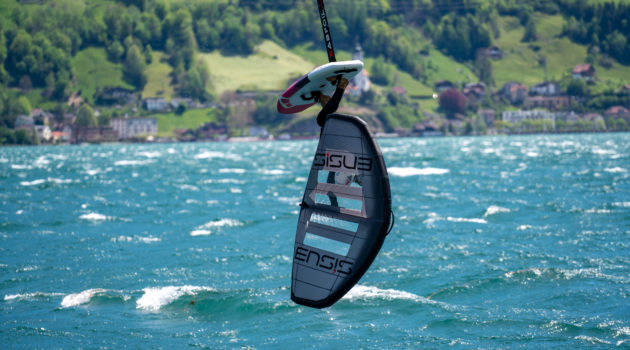 ENSIS SCORE Wing Stormy Wind Urnersee Switzerland with Balz Müller