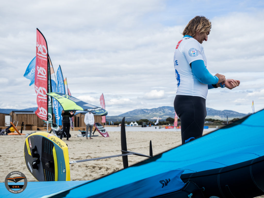 GWA Wing Foil World Cup Leucate 2021 Day 03 action