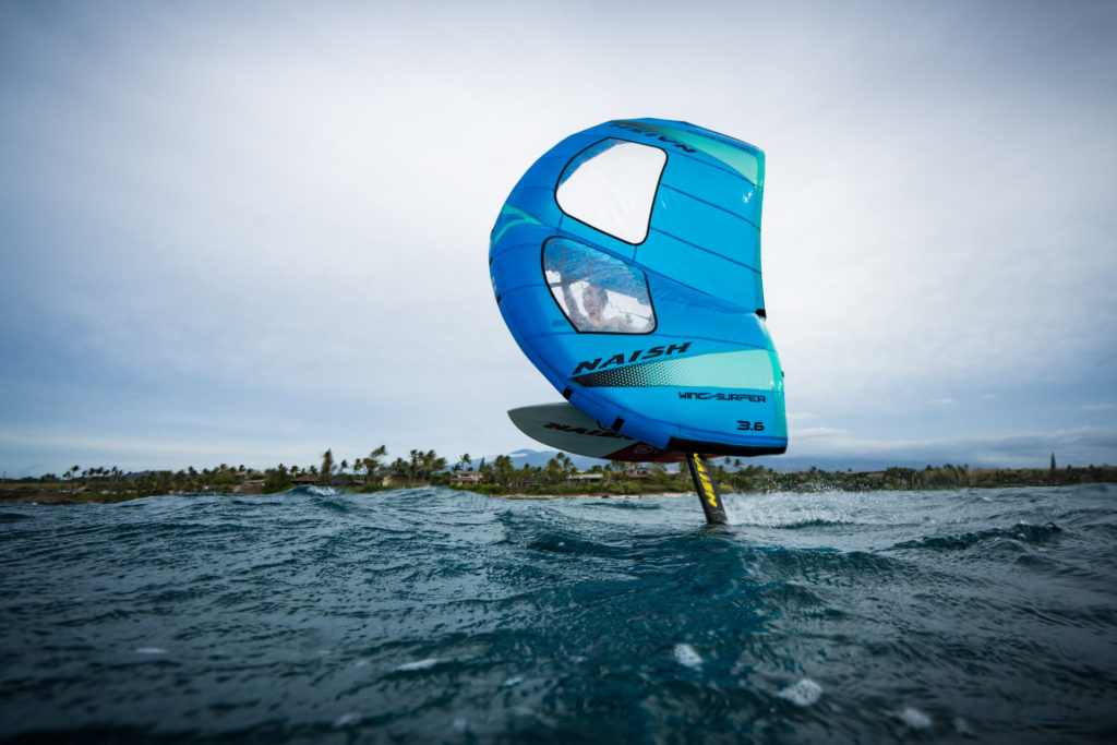 Rio Blue Wing Foil Rider of the Week on wingfoildaily. The young wing surf talent from maui sponsored by Naish